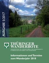 Thüringer Wanderbote Ausgabe 5/2017 erschienen