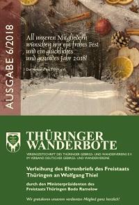Thüringer Wanderbote Ausgabe 6/2018 erschienen
